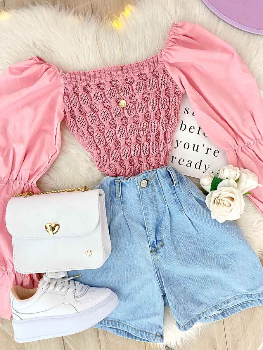 Blusa Angelical Rosa