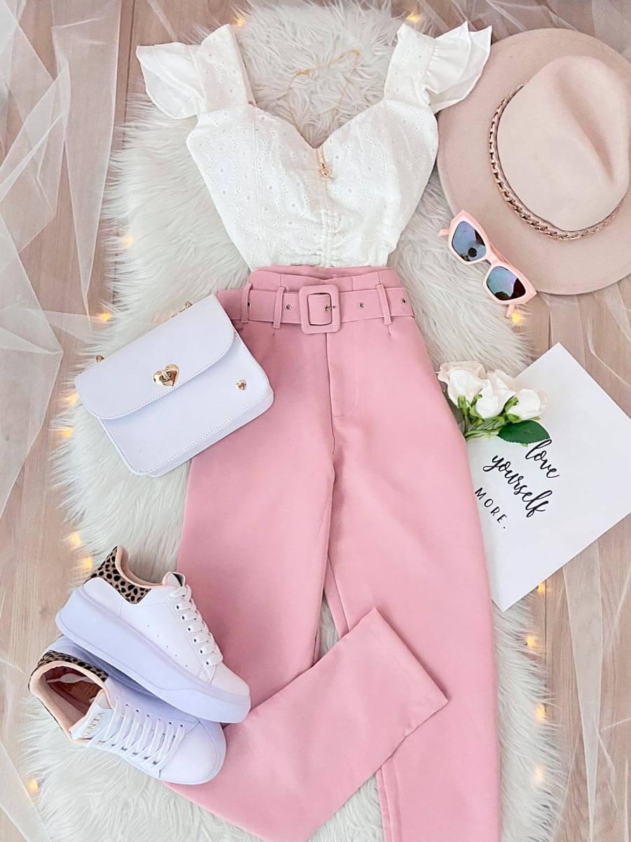 Pantalón Tokio Rosa