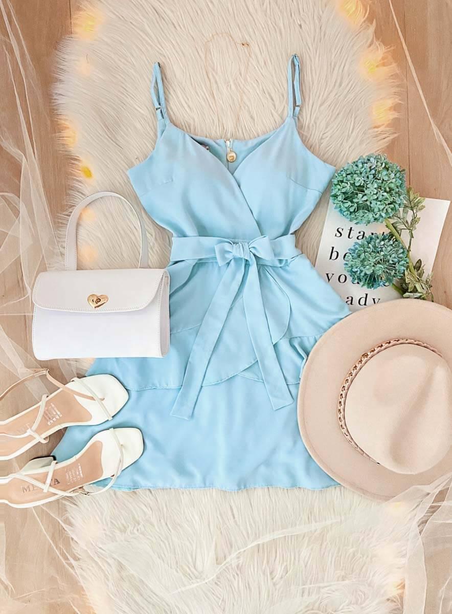 Vestido Paris Celeste