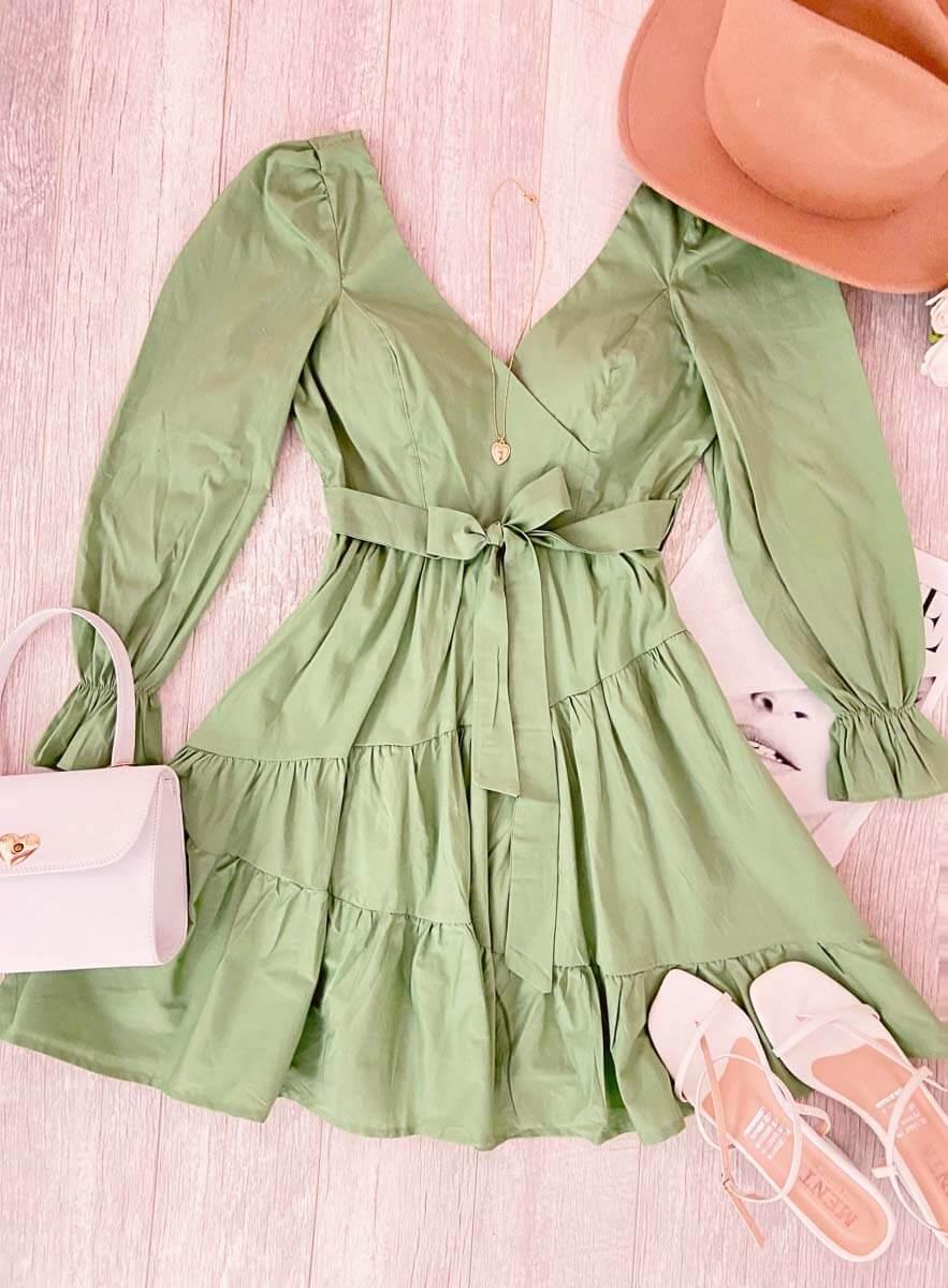 Vestido Texas Verde