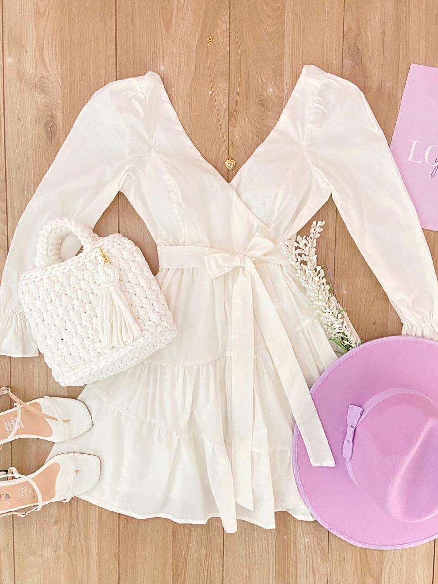 vestido Texas Blanco