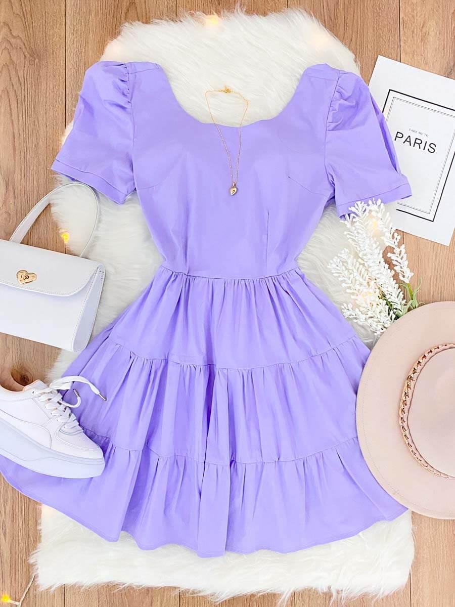 vestido armonia lila